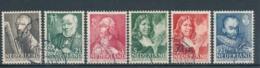 Nederland/Netherlands/Pays Bas/Niederlande/Paesi Bassi 1940 Mi: 351-356 Yt: 342-347 Nvph: 350-355 (Gebr/used/obl/o)4329) - Periode 1891-1948 (Wilhelmina)