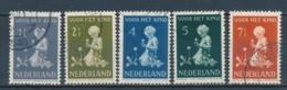 Nederland/Netherlands/Pays Bas/Niederlande/Paesi Bassi 1940 Mi: 375-379 Yt: 365-369 Nvph: 374-378 (Gebr/used/obl/o)4330) - 1891-1948 (Wilhelmine)
