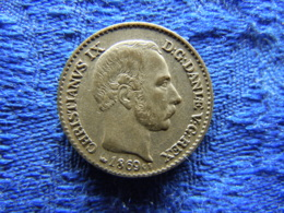 DENMARK 4 SKILLING 1869, KM775.2 - Danemark