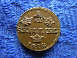 SWEDEN 1/12 SKILLING 1812, KM564 - Suède