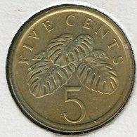 Singapour Singapore 5 Cents 1985 KM 50 - Singapour