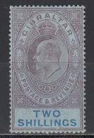 1906-11  YVERT Nº  60  /*/ - Gibraltar