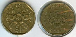Singapour Singapore 1 Dollar 1987 KM 54b - Singapour