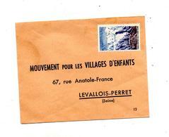 Enveloppe Réponse Affranchie Village D'enfants - Marcophilie (Lettres)