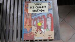 TINTIN LES CIGARES DU PHARAON   HERGE - Tintin