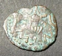 Judea Great Revolt/Jewish-Roman War Ancient Pruta Year 3 Coin, 68-69 CE; Hen-1363b - 1. Les Julio-Claudiens (-27 à 69)