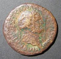 Vespasian AE Sestertius Judaea Capta Commemorative Ancient Coin, Hendin 1502, G-VG - 1. Les Julio-Claudiens (-27 à 69)