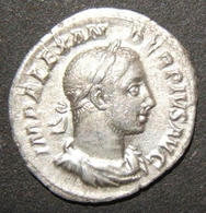 Ancient Roman Silver Denarius Coin Of Severus Alexander IMP ALEXANDER PIVS AVG - 1. Les Julio-Claudiens (-27 à 69)