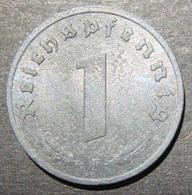Germany Allied-occupation Issue 1 Pfennig Coin 1945 F, UNC; KM-A103 - Albanie