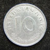 Germany 10pf 1946 G Zinc Allied Occupation Issue Coin, BU; KM# A104 - Albanie