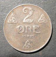 Norway/Norwegian World War I Issue Iron 2 Ore 1920 Coin, VF - Albanie