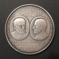 Israeli Rothschild/Knesset Building Numbered Silver State Medal, 1966 By Vincze - Belgique