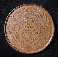 Judaica Medal Commemorating German Revolution/Jewish Emancipation 1848 Drentwett - Allemagne