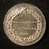 German-Bavarian '48-ers' Token Of 1848 Revolution References Jewish Emancipation - Allemagne