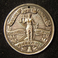 American Judaica Jewish Congress In Philadelphia Delegates Token, 1920 - Allemagne