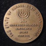 American Harry Truman|Man Of The Century Token Of Israel Bonds Organization 1960 - Allemagne
