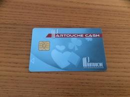 """Carte à Puce * """"PARTOUCHE CASH / CASINO Vichy (03)"""" - Carte Di Casinò"""