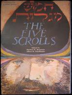 American Art/Judaica Book The Five Scrolls, 1st Edition; Leonard Baskin 1984 - Judaisme