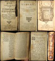 Dutch Latin/Hebrew Biblia Hebraica Tanach, Part 2; Borstius, Halma & Water 1701 - Judaisme