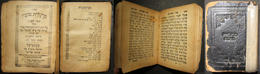 Polish Judaica Sfard Pocket Siddur Margalit Tova 1925 By Simche Freund, Przemysl - Judaisme