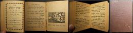Judaica Pocket Siddur Zichron Yerushalayim 1925 By Rabbis Sheloush & Abiketzitz - Judaisme
