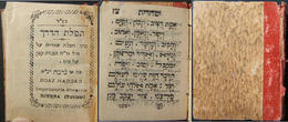 Tunisian Judaica Pocket Siddur Tfilat HaDerech By Boaz Haddad Of Djerba, 1930s - Judaisme