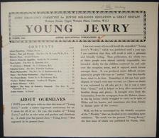 Holocaust Era Orthodox Jewish Illustrated Young Jewry's Weekly, Chanukka 1942 - Judaisme