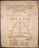 British Holocaust Era Orthodox Jewish Young Jewry Evacuee's Periodical #42, 1944 - Judaisme