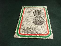 ONORANZE MARTIRI 1945 PIEVE DI CENTO CARTA GEOGRAFICA BOLOGNA E DINTORNI - Carte Geografiche