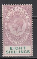 1912-19  YVERT Nº 71  (*) - Gibraltar