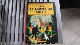 TINTIN  LE TEMPLE DU SOLEIL   HERGE - Tintin