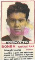 Figurina Bomba Americana Anni 50 Carlo Annovazzi-Calciatore Milan - Sport