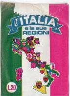 BUSTINA FIGURINE L'ITALIA E LE SUE REGIONI EDIZIONI C.D.C. SIGILLATA PIENA - Adesivi