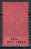 1912-19  YVERT Nº 72  /**/ - Gibraltar