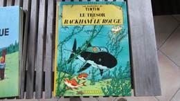 TINTIN LE TRESOR DE RACKHAM LE ROUGE   HERGE - Tintin