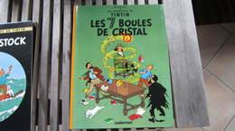 TINTIN LES 7 BOULES DE CRISTAL   HERGE - Tintin