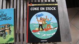 TINTIN COKE EN STOCK    HERGE - Tintin