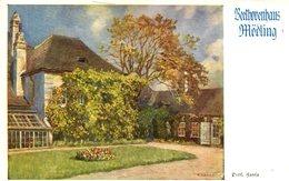 007526  Mödling - Beethovenhaus  Künstlerkarte Signiert - Mödling
