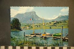 CP, 73, CHALLES LES EAUX Le Col Du Granier Et Le Lac Saint André N°1737 Edition CAP - France