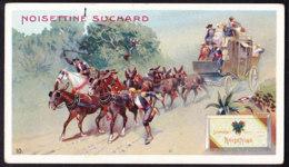 CHROMO Chocolat SUCHARD    Poste En Espagne  Chevaux  Postal  Spain       Serie 211 - Suchard
