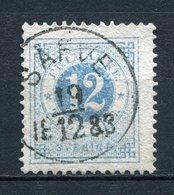 Schweden Nr.21 B           O Used       (1214) - Svezia