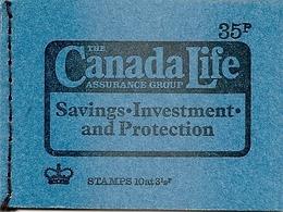 GREAT BRITAIN, Booklet DP 4, 1974, 35p, Canada Life, Mi 0-71c - Booklets