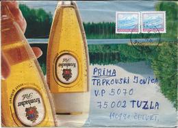 Bier Beer Pint Biere Cerveza Brewery Yugoslavia Letter  - Motive KROMBACHER Pils - Biere