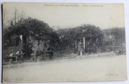 CPA Plateau De Vic Sur Aisne 02 Abri D'artillerie Guerre 1914 1918 WWI - War 1914-18