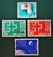 EMISSIONS 1963 - OBLITERES - YT 711 + 717/19 - Used Stamps