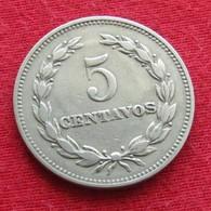 El Salvador 5 Centavos 1959 KM# 134 - El Salvador