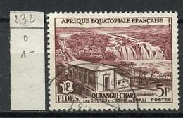 AEF - Französisch Äquatorialafrika - French Equatorial Africa 1956 Y&T N°232 - Michel N°298 (o) - 5f Usine De Boali - A.E.F. (1936-1958)
