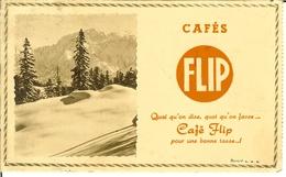 Vieux Buvard Des Cafés FLIP . - Coffee & Tea