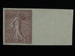 131 ND Sans Gomme Signé Cérès - Tb BDF Semeuse - 1903-60 Semeuse Lignée