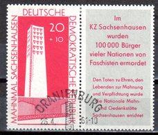 DDR 1960 Mi. 783 Zd Zusammendruck Gestempelt (p1016) - Zusammendrucke